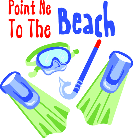 snorkeling: Vacationing at the bay is lots of fun.  Take this snorkeling design to remember it always.