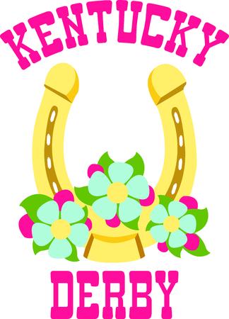Das goldene Hufeisen mehr Glück bringen! Verwenden Sie dieses Bild in Ihrem nächsten Design Standard-Bild - 43681344