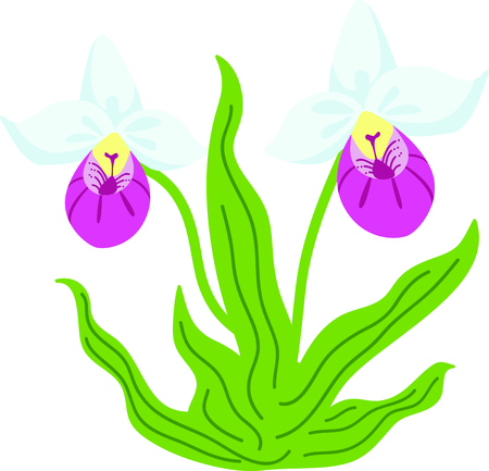 This beautiful flower is perfect when you are creating a spring design.  Perfect to put on a pillowcase!