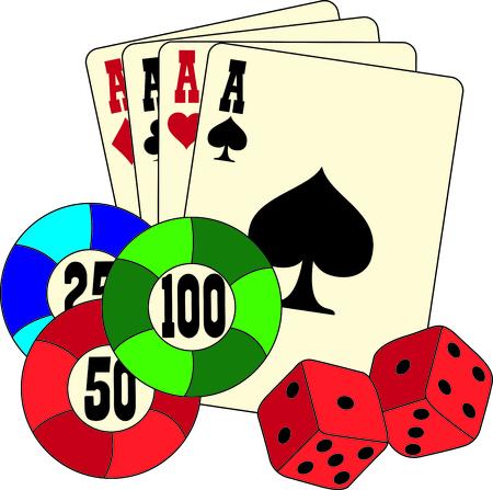 Ceci est une conception vraiment bien quand vous allez dés de jouer au casino, parfait pour une chemise ou un chapeau. Banque d'images - 43681476