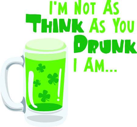 paddys: Enjoy St. Patricks Day with your Irish green beer.  Dont forget to add this image to your design!