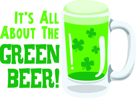 st paddys day: Enjoy St. Patricks Day with your Irish green beer.  Dont forget to add this image to your design!