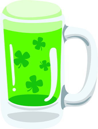 Enjoy St. Patricks Day with your Irish green beer.  Dont forget to add this image to your design!