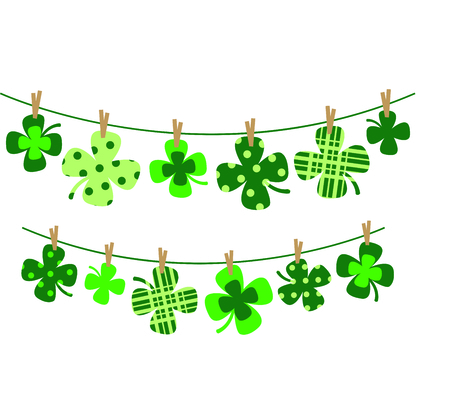 saint patty's: Enjoy St. Patricks Day with your Irish shamrock clothesline.  Dont forget to add this image to your design!