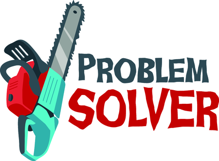 solver: This chainsaw image is the perfect image for your next design.  Perfect for the handyman working on the honeydo list.