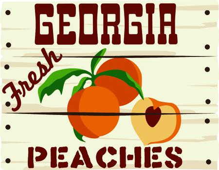 桃印は、もぎたての桃を宣伝するための素晴らしい方法です。