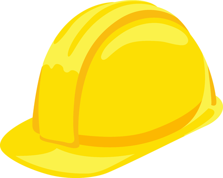 protective: This construction hat image is the perfect image for your next design.  Perfect for the handyman working on the honeydo list.