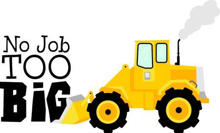 cargador frontal: Esta imagen del tractor es la imagen perfecta para su pr�ximo dise�o. Perfecto para el personal de mantenimiento que trabaja en la lista honeydo.