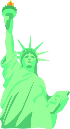 이 자유의 여신상은 뉴욕 디자인을위한 완벽한 이미지입니다.