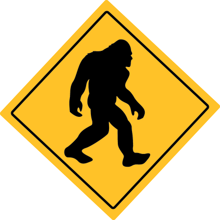 When traveling and hiking in Washington, keep your eyes open for Sasquatch.