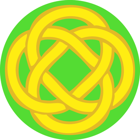Celebrate your heritage with this Celtic knot. Иллюстрация