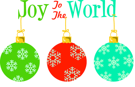 Send holiday cheers with these beautiful Christmas ornaments.