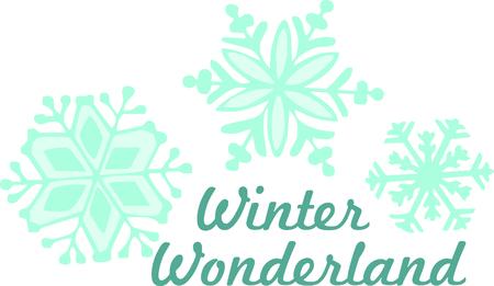 flurry: This beautiful snowflake