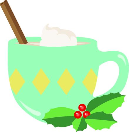 eggnog: This perfect mug of eggnog