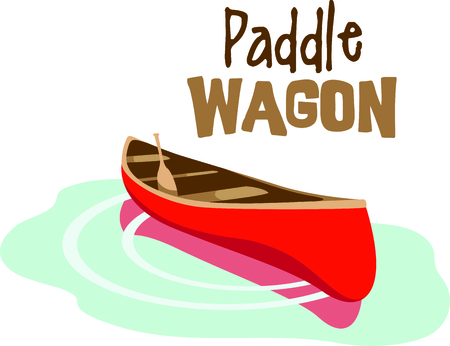 vacationing: Vacationing at the bay is lots of fun.  Take this canoe design to remember it always.