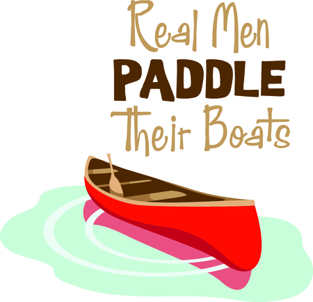 Vacationing at the bay is lots of fun.  Take this canoe design to remember it always.