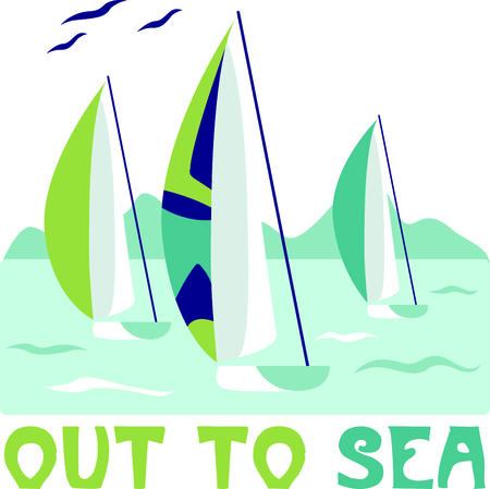 Vacationing at the bay is lots of fun.  Take this sailboat design to remember it always.
