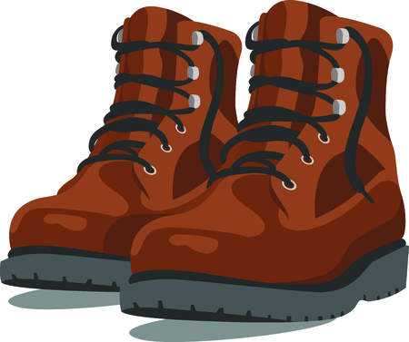 Camping is a fun activity to get away from the electronics and enjoy the outdoors.  Use this boot image with your design.