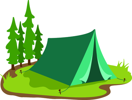 trek: Camping is a fun activity to get away from the electronics and enjoy the outdoors.  Use this boot image with your design.
