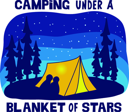 national parks: Camping is a fun activity to get away from the electronics and enjoy the outdoors.  Use this camping image with your design.