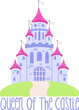 fortification: Get this princess castle to give to a little girl for her birthday.