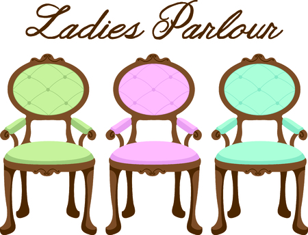 This princess chair is the perfect design for a girl.