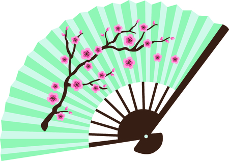 cherry blossom tree: This cherry blossom tree is perfect for your next design.