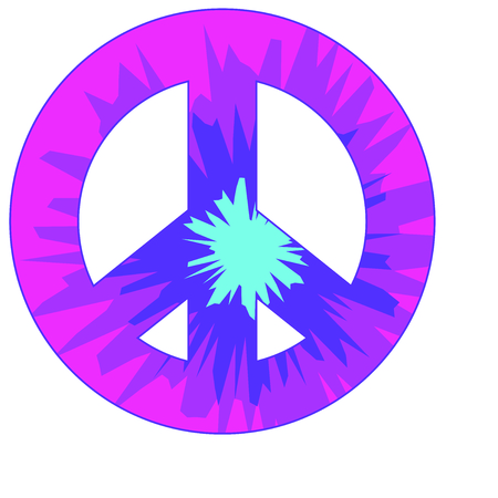 promote: Love and peace for twenty twelve, we survived.  Send this to promote peace! Illustration