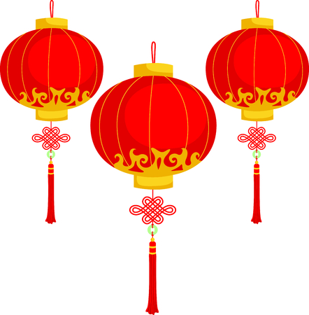 holiday celebrations: This Chinese lantern is perfect for your next design.