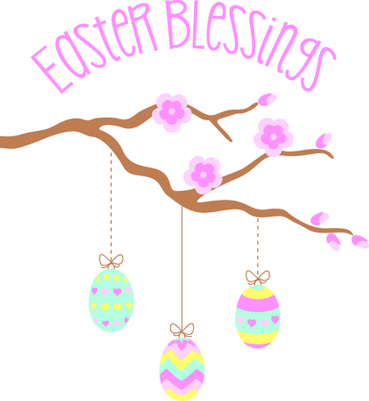 blessings: Get eggs image for your next Easter design.