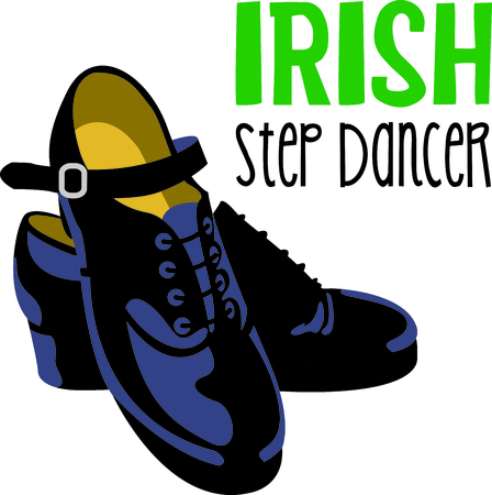 kick out: Get these Irish shoes image for your next design.
