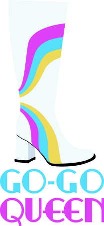 Get this boot rainbow for your next design.
