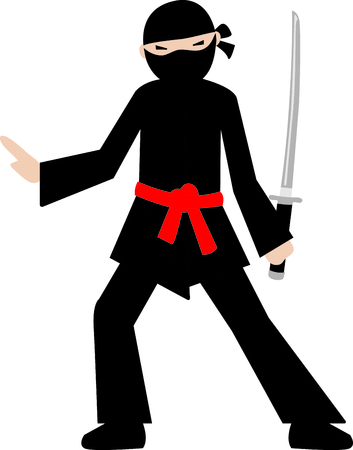 warriors: This Samurai is perfect for your next design.