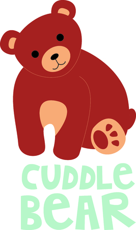 cuddle: Get this bear image for your next design.