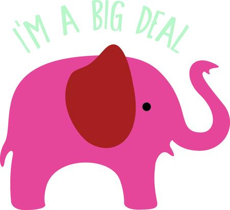 Get this elephant image for your next design. Illusztráció
