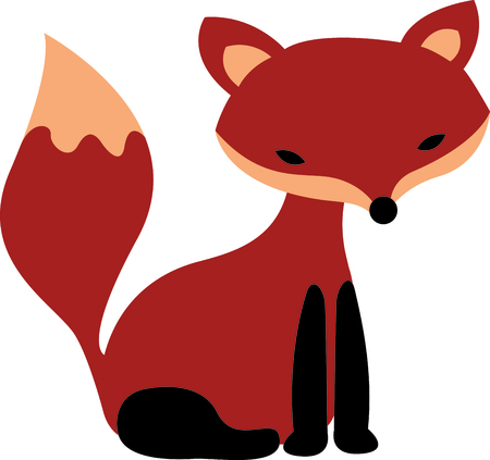 trickery: Get this fox image for your next design.