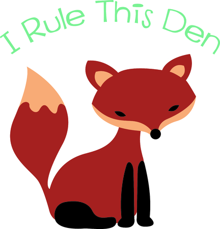 animal den: Get this fox image for your next design.