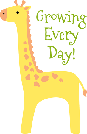 ruminant: Get this giraffe image for your next design.