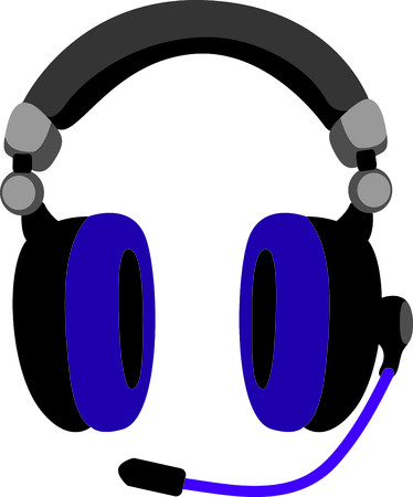 handheld device: Get this headphone image for your next design.