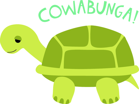 critter: Get this cute turtle image for your next design. Illustration