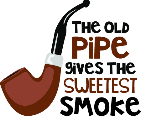 habit: Get this pipe image for your next design. Illustration
