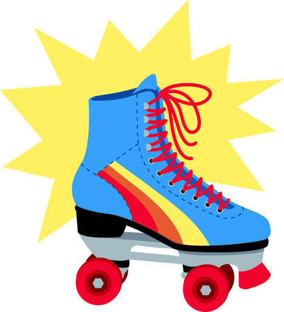 Roller skating is so much fun.  Use this image in your next design.