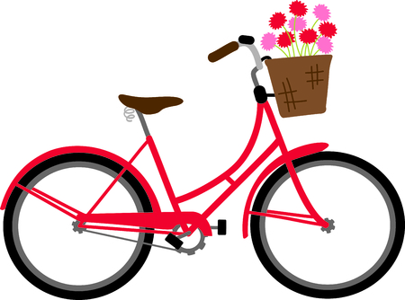 two wheeler: Riding a bike is so much fun.  Use this image in your next design.