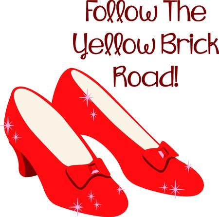 Krijg het deze robijnrode pantoffels voor uw volgende ontwerp.