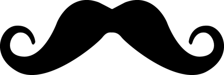 Get this mustache image for your next design. Фото со стока - 43781385