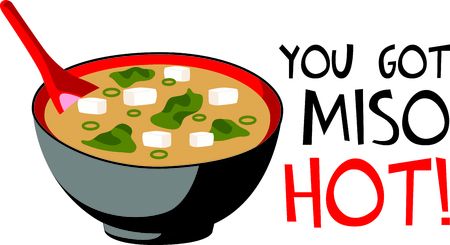 dashi: This Chinese food is perfect for your next design. Illustration