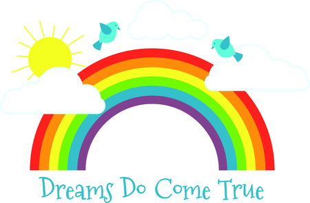 promise: Get this rainbow image for your next design.