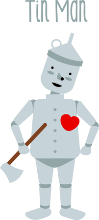 woodsman: Get this tin man image for your next design.
