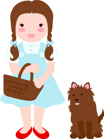 Krijg dit beeld Dorothy voor uw volgende ontwerp.