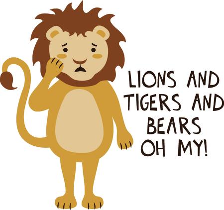 Get this lion image for your next design. Illustration